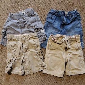 Lot of boys 4T shorts